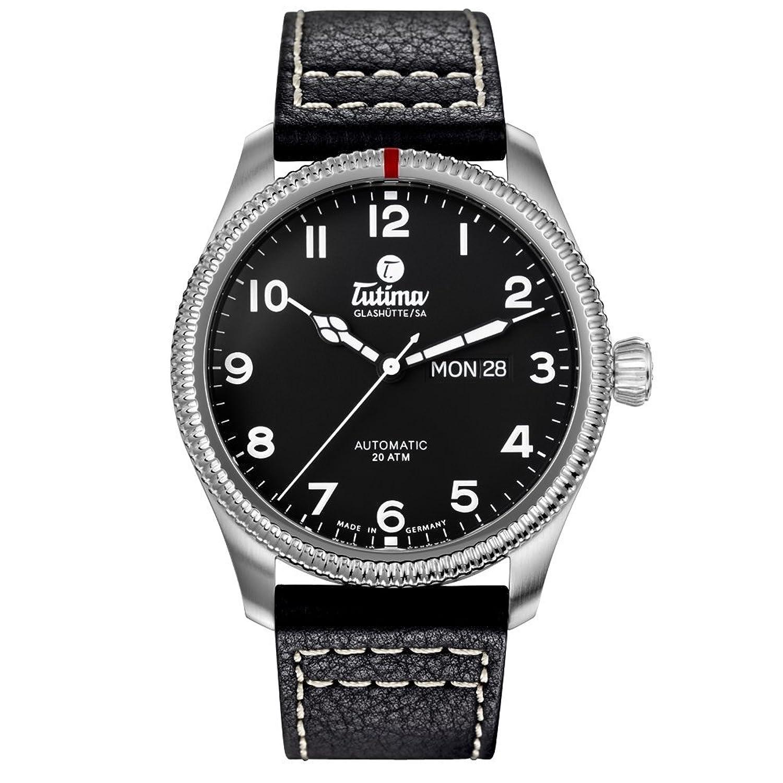 TUTIMA GLASHUTTE チュチマグラスヒュッテ Grand Flieger Classic Automatic 6102-01 [クロノワールド chronoworld] B01GRJGD8U