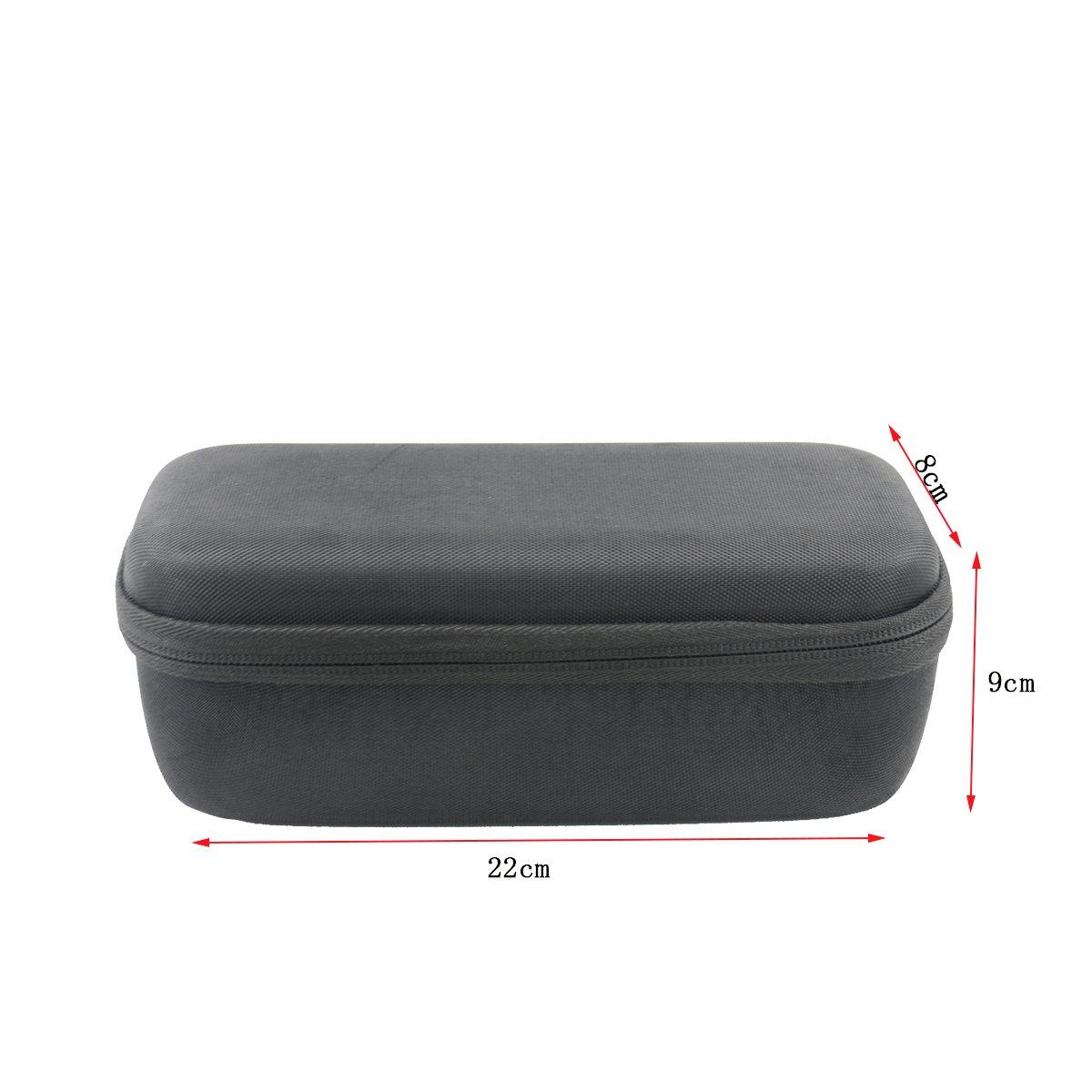 for Anker SoundCore Boost 20W Bluetooth Speaker Hard Case Carrying Travel Bag Cover by SANVSEN