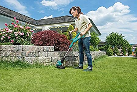 Bosch ART 30 Electric Grass Trimmer : How to replace the line