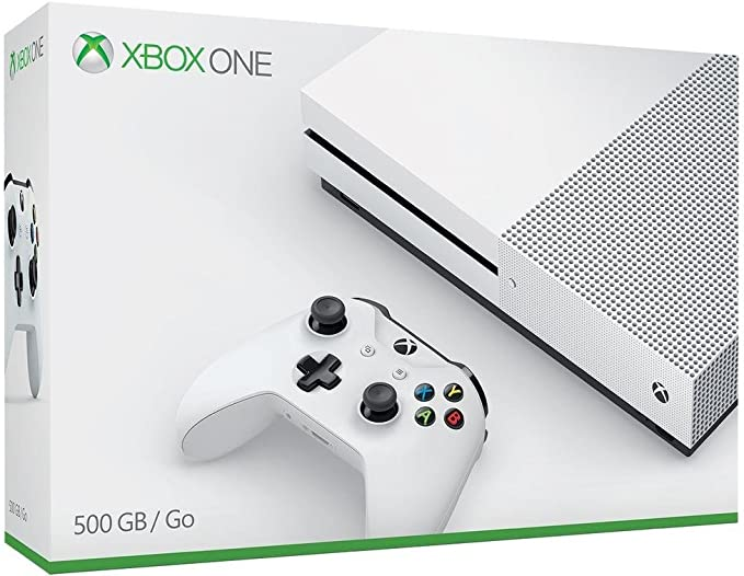 Microsoft Xbox One S 500GB Wifi Color blanco - videoconsolas (Xbox One S, 8192 MB, DDR3, AMD Jaguar, AMD Radeon, Unidad de disco duro): Amazon.es: Videojuegos