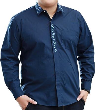 Camisas Hombre Camisa De Camisa Casual Manga Larga De Modernas Casual Algodón Suelta Blusa De Oficina De Moda Otoñal Tops Tops: Amazon.es: Ropa y accesorios