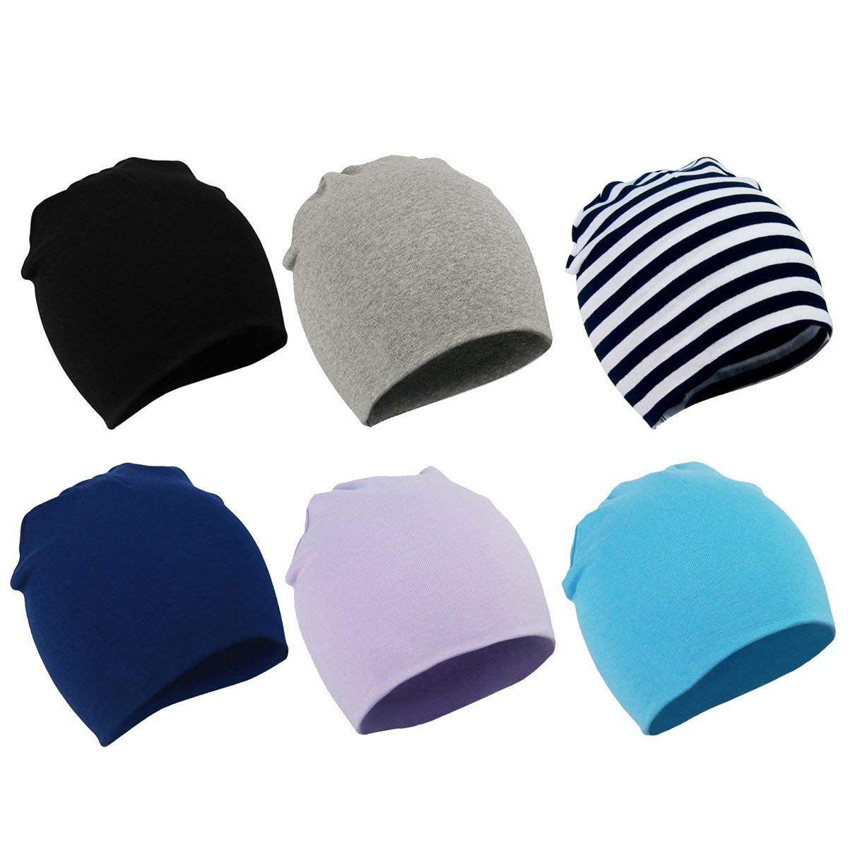American Trends Kids Baby Toddler Beanie Hats Infant Newborn Nursery Hat Cute Warm Cotton Soft Cap