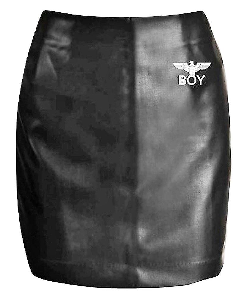 BOY LONDON ITALIA - Falda - para niña Negro Medium : Amazon.es ...