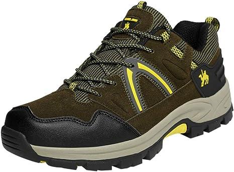 Zapatillas de Senderismo para Hombre Trail Running Aire Libre ...