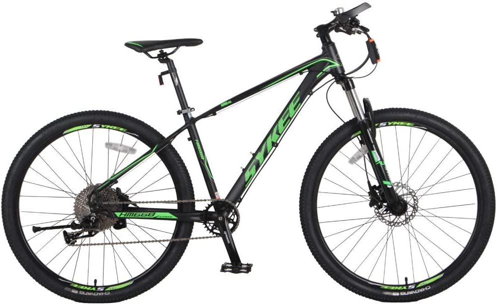 radarfn マウンテンバイク 11速27.5インチホイール 大人用自転車 アルミ合金フレーム シフトロック フロントフォーク サスペンション マウンテンバイク ダークグリーン