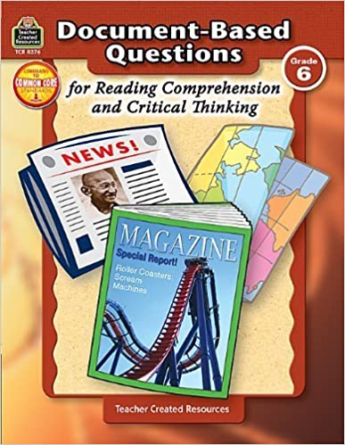 Book Document-Based Questions for Reading Comprehension and Critical Thinking by Housel, Debra (2007)