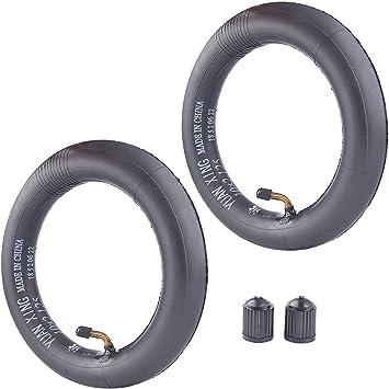 c/ámara de aire de repuesto para patinete de 2 ruedas autoequilibrado para neum/áticos 10X2 10X1.90 10X1.95 10X2 10X2.125 c/ámara de aire 2 Pack de 10 pulgadas RUTU 10 x 2,125