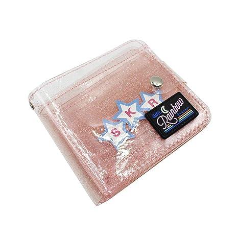 Amazon.com: Jelly billetera plegable para mujer y niña ...