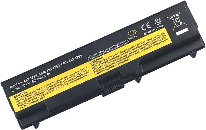 """Bay Valley Parts Battery for Lenovo ThinkPad E40 E50 E420 E425 E520 E525 L410 L412 L420 L421 L510 L512 L520 SL410 2842 SL510 T410 T410i T420 T510 T520 W510 W520 ThinkPad Edge 14"""" 05787UJ 05787VJ 057"""