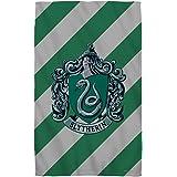 "Slytherin Crest -- Harry Potter -- Beach Towel (36"" x 58"")"