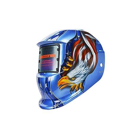 Deko Eagle Solar casco de soldadura de Oscurecimiento Automático Máscara de soldadura envío desde Estados Unidos