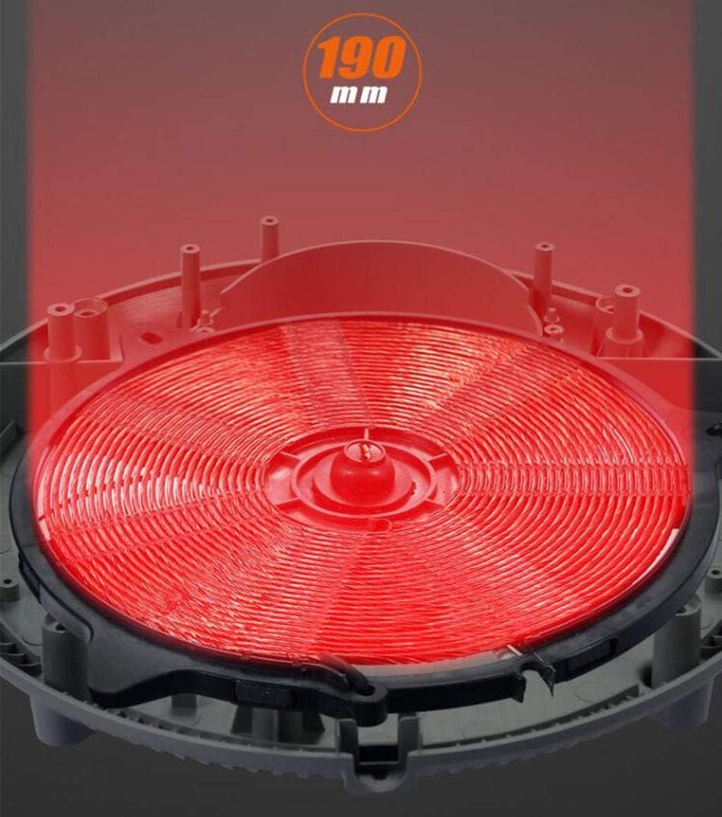 LBJYDGE Rund Cooker Haushalts Hochleistungs-Cooker 2200W Multifunktionsschlaf Kochen Hot Pot Integrated Battery Herd Smart-Cooker