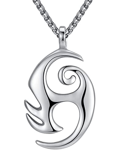Amazon Stainless Steel Tribal Eternal Life Symbol Pendant