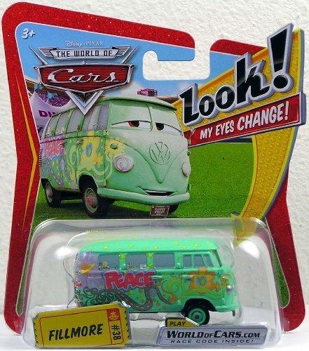 Disney / Pixar CARS Movie 1:55 Die Cast Car with Lenticular Eyes Filmore