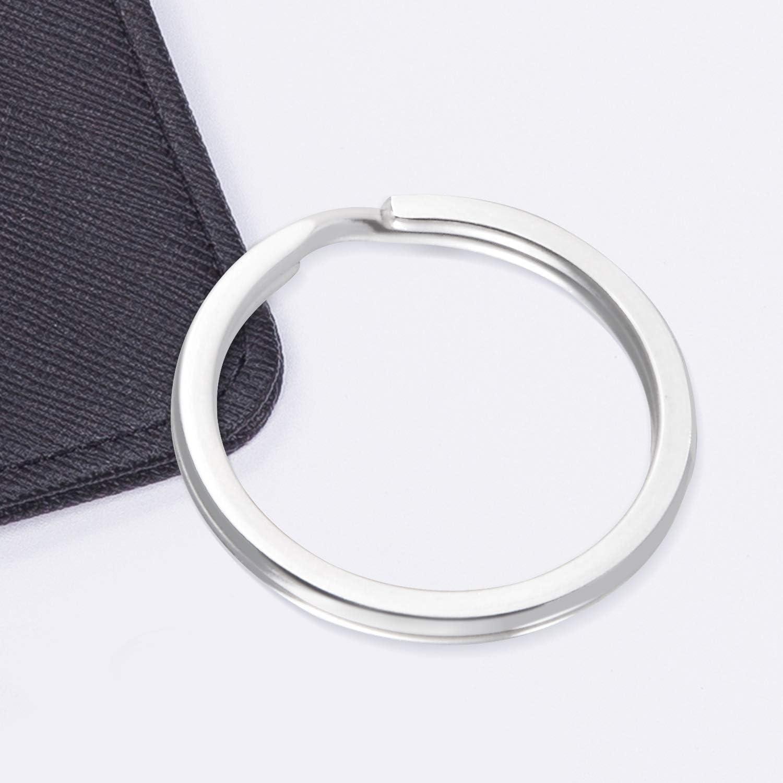 bolsos colgantes y otros accesorios,30mm 30 pcs Anillos partidos de metal,anillas llaveros para Organizaci/ón de Llaves,anillos para para hacer colgantes de llaveros Gimars