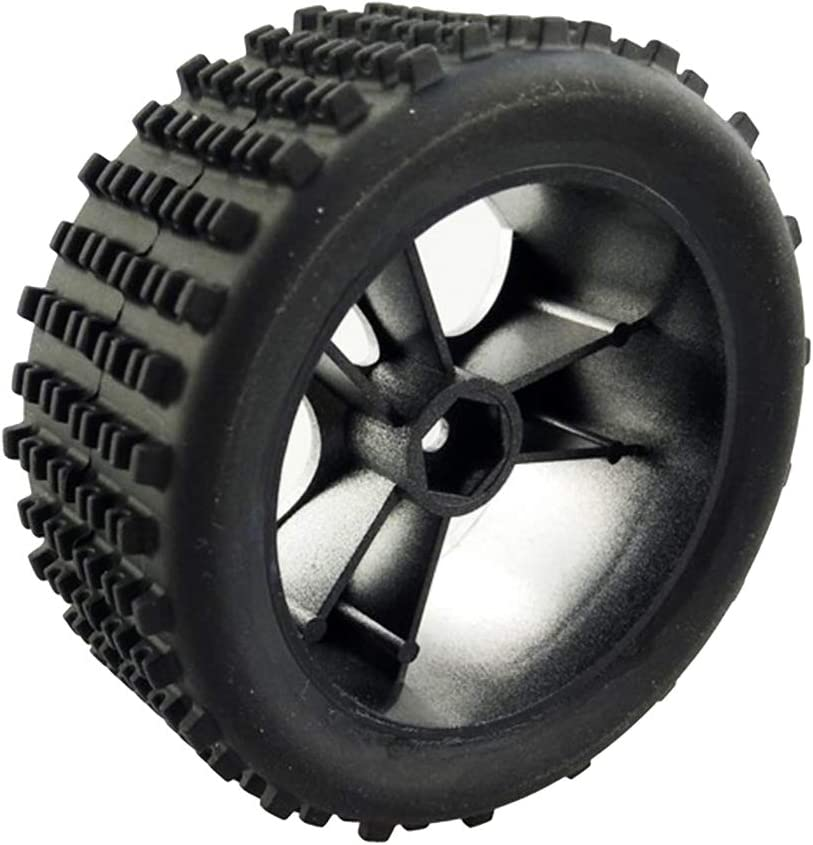 Perfeclan 4x Replacement Plastic Tire Tyres A959-01 for Wltoys 1//18 RC Car Accessories