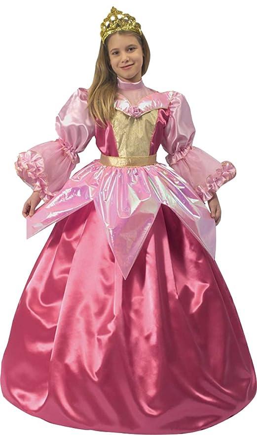 e287013eabcb Ciao - Principessa Sogno Rosa 3 in 1 Costume Bambina, 8-10 Anni ...