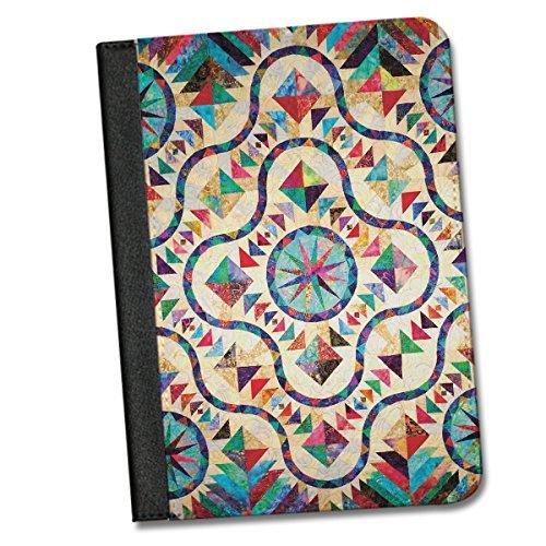 Quilt Inspired iPad AIR / iPad Air 2 Folio Case By Little Brick Press