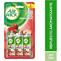 Air Wick Clickspray Manzana Canela Repuesto, 8.5 g, 3 Piezas