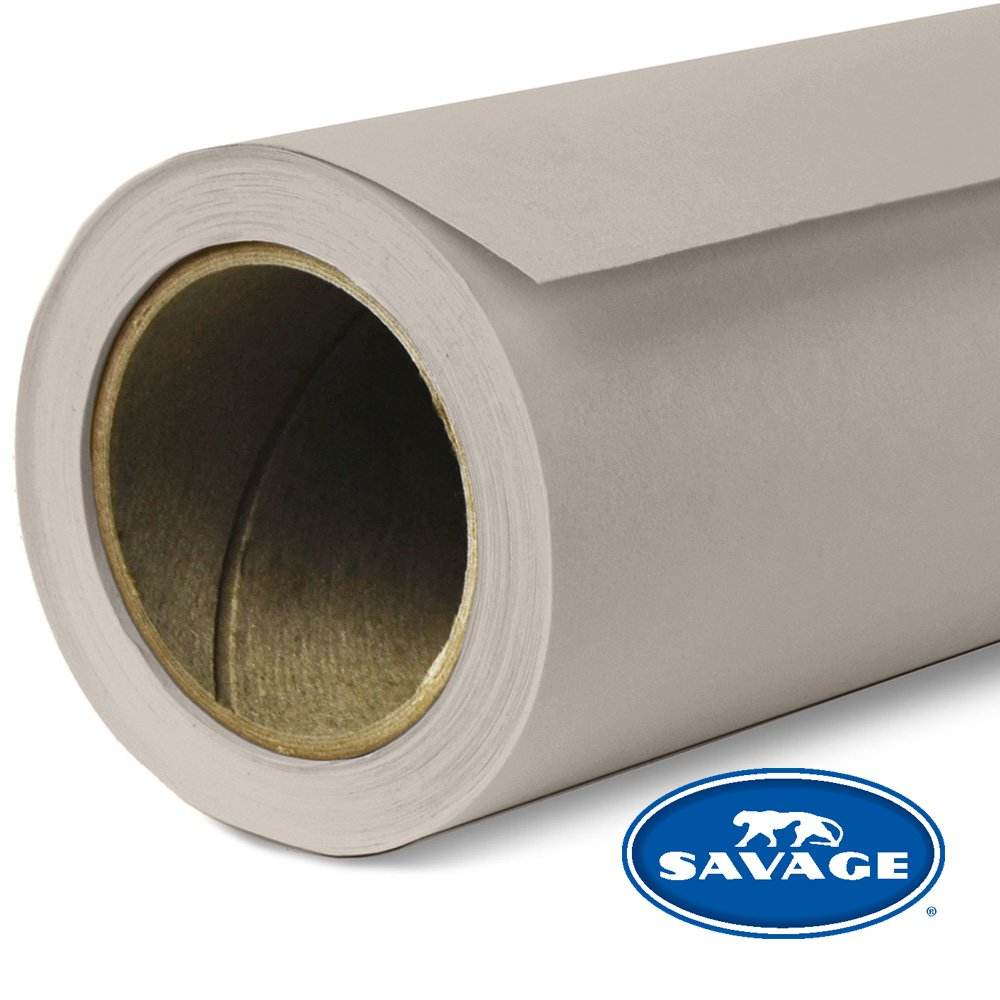 Savage Seamless Background Paper - #12 Studio Gray (107 in x 36 ft) by Savage