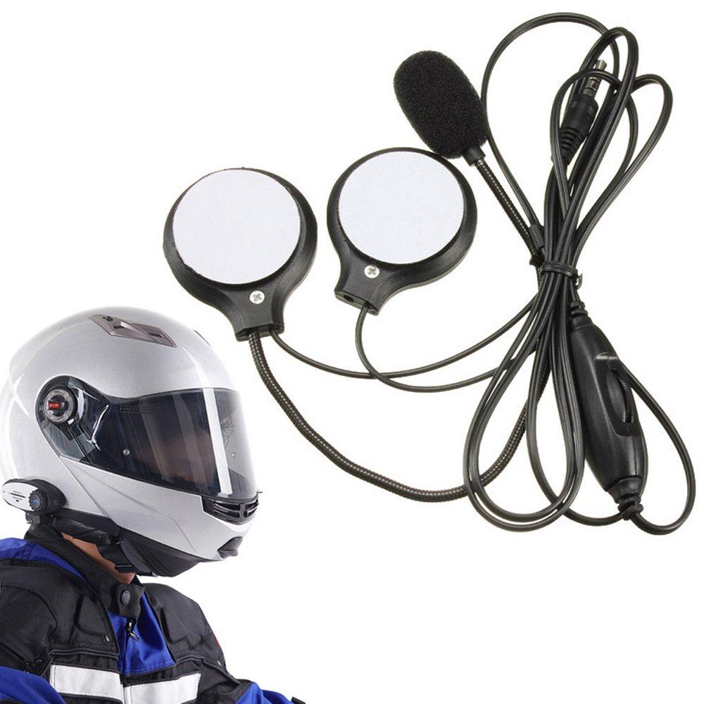 Amazon.com: ElementDigital Headset Speakers, 3.5mm Motorcycle Helmet ...