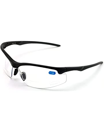 52828923c2 Bifocal High Performance Sport Protective Safety Glasses Bi-focal - Clear  Lens Reader Reading Glasses