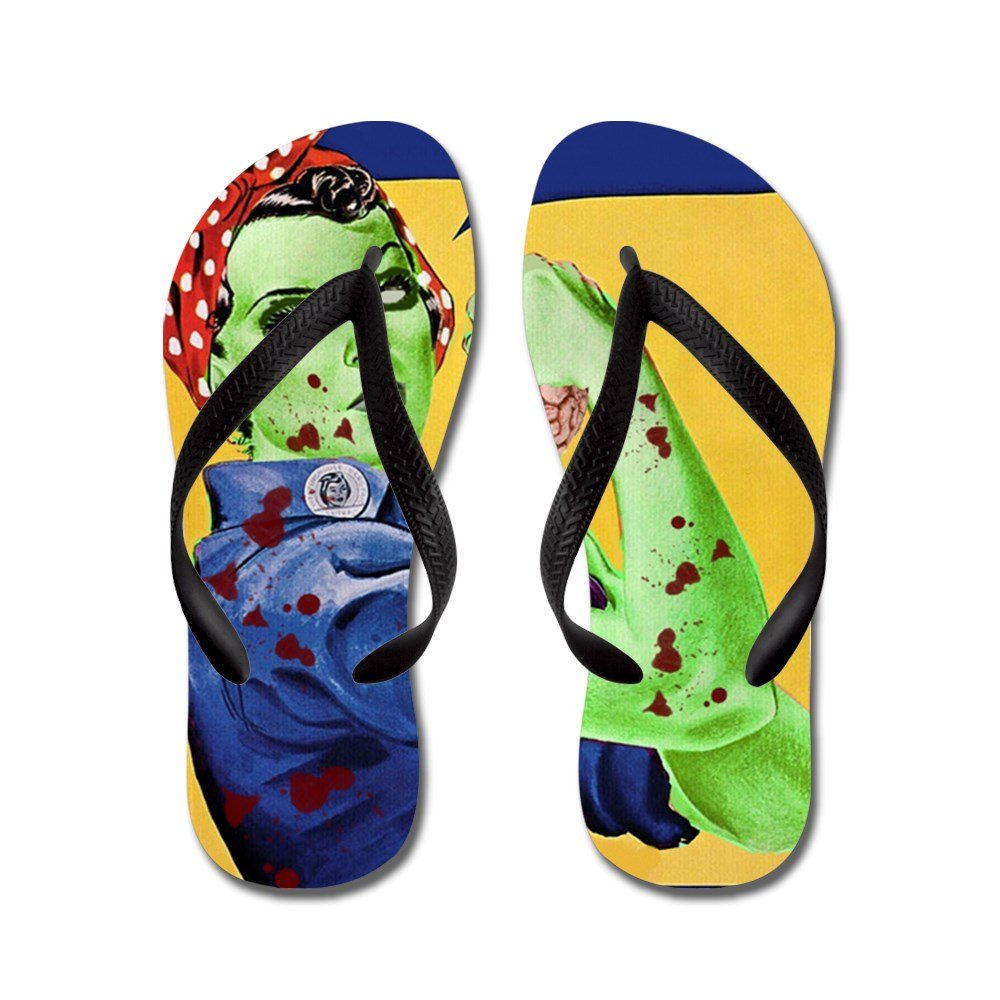 Monster Zombie Feet Women's Flip Flops