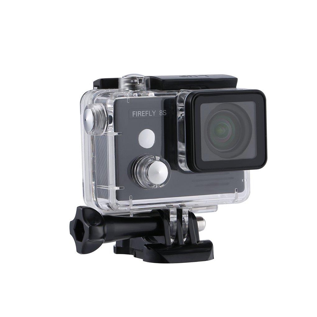 Mengonee 12 Mega Píxeles 8S 4K sin Distorsión LCD LCD LCD de la Cámara para la Fotografía Aérea FPV Ayuda de la Leva MicroSD Card 128G d99718