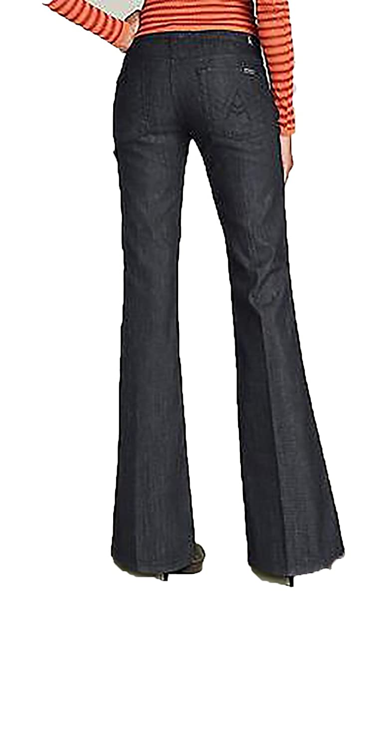 """7 for all Mankind LEXIE PETITE """"A"""" Pocket Flare Contour Waist in Lightweight Mercer"""