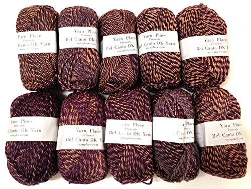 Yarn Place Bel Canto DK Weight Yarn 100% Wool 500g 1090yds 10 Skein Lot Color #03610