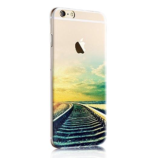 38 opinioni per Cover iphone 6, Custodia iphone 6s, Sunroyal® Paesaggio Scenario Creativa Cover