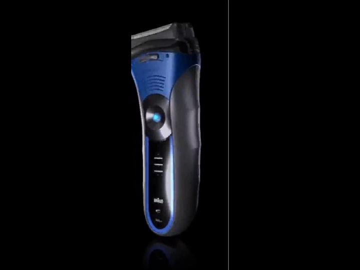 Braun 340 W&D Máquina de afeitar de láminas Recortadora Azul ...
