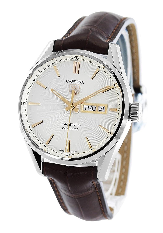 タグホイヤー カレラ アリゲーターレザー 腕時計 メンズ TAG Heuer WAR201D.FC6291[並行輸入品] B01KM73ALQ