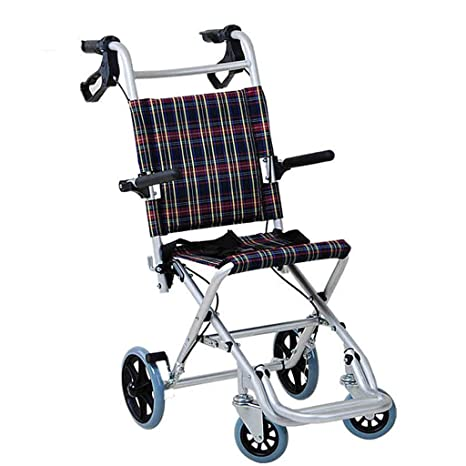 Silla de ruedas Rampas Plegable Ligero, Viejo, Ultraligero, Scooter, Carro de avión