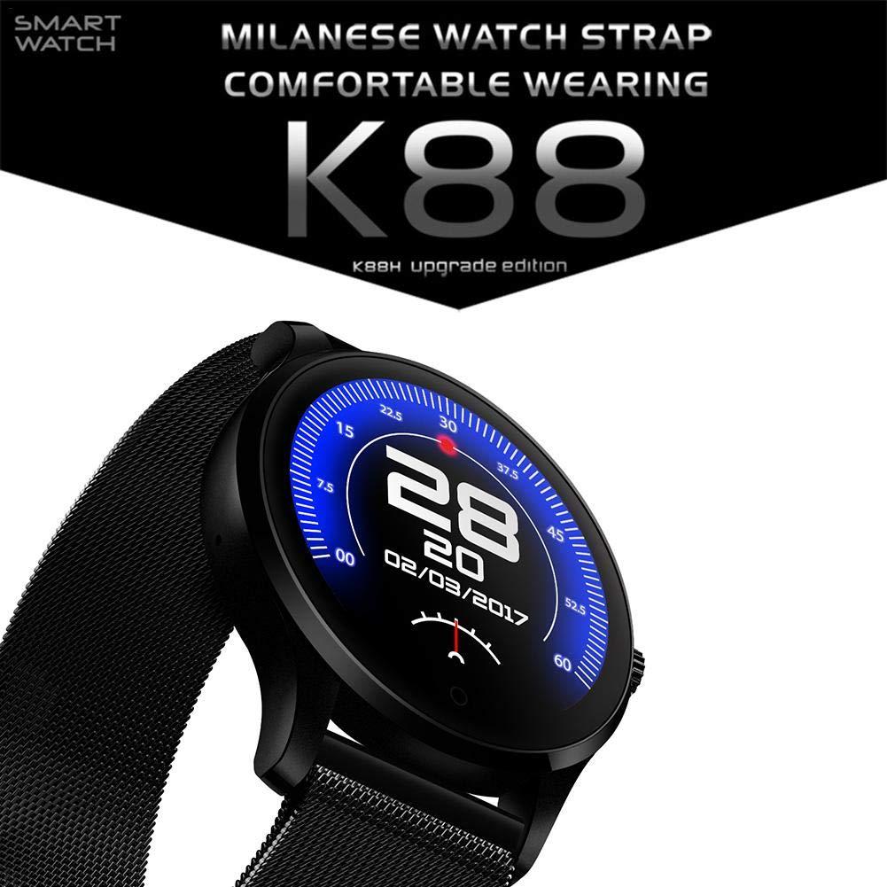 ibellete k88 Smartwatch Deporte pulsera frecuencia cardíaca sueño ...