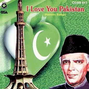 I Love You Pakistan by Shahida Minni on Amazon Music