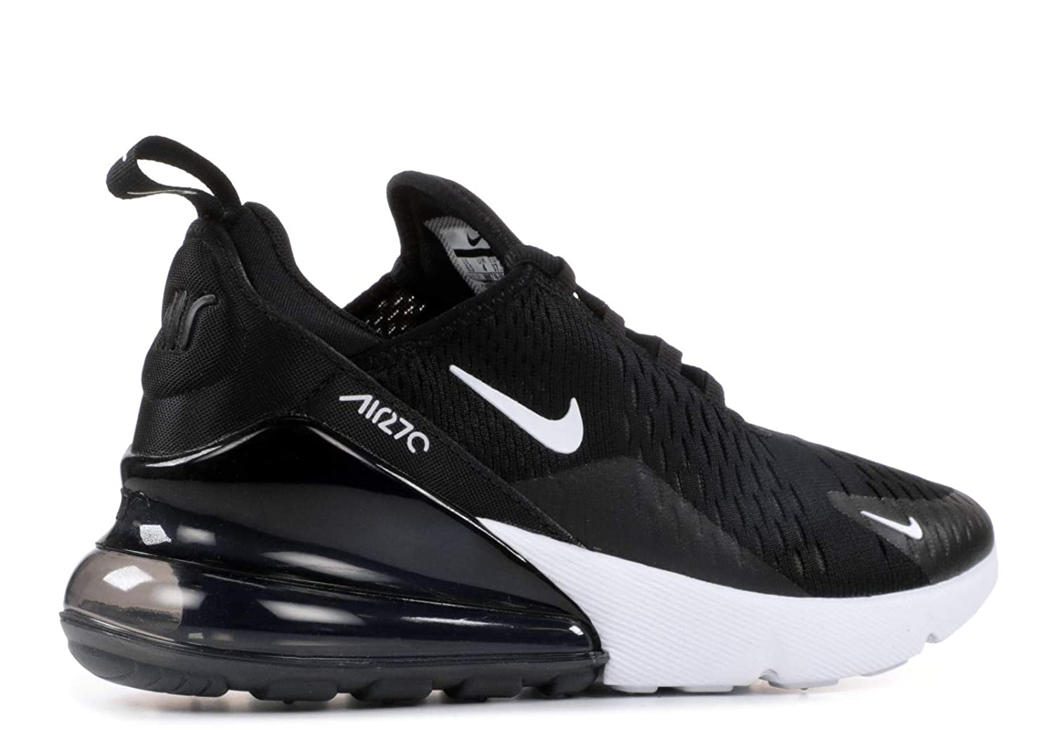 new concept d637c 7ade0 Amazon.com   Nike Women s WMNS Air Max 270, Black Anthracite-White, 9.5 M  US   Fashion Sneakers