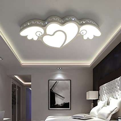 Amazon.com: DIDIDD Ceiling light- creative heart-shaped ...