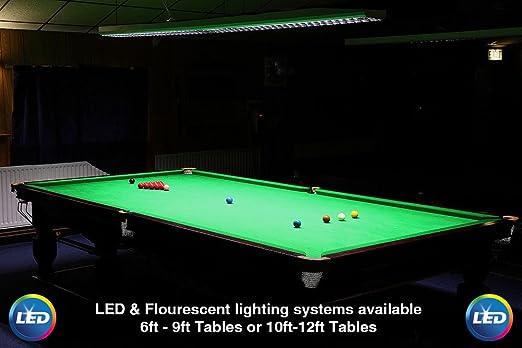 Professional Tournament Snooker, Pool, Billiard Table LED / Fluorescent  Lighting (5FT LED 4000k): Amazon.co.uk: Kitchen U0026 Home