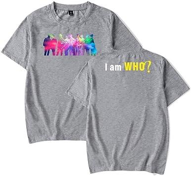 Camiseta Hip-Hop Stray Niños Camiseta Estampada Ropa Deportiva Ropa Unisex Cómoda, WSG, gris, m: Amazon.es: Bricolaje y herramientas