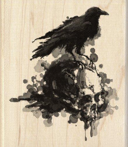 Inkadinkado 60 00809 Wood Stamp Raven