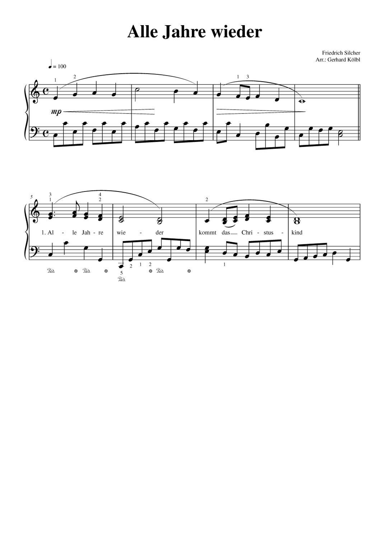Weihnachtslieder Klaviernoten Kostenlos.Piano Piano Christmas Weihnachtslieder Für Klavier Amazon De