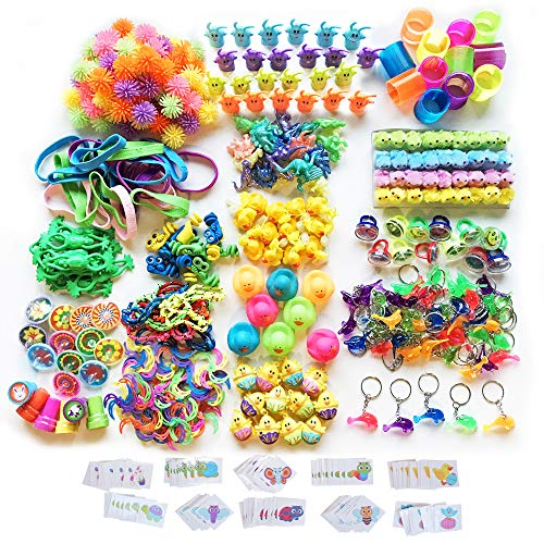 494-Piece Assortment of Small Toys and Goodies for