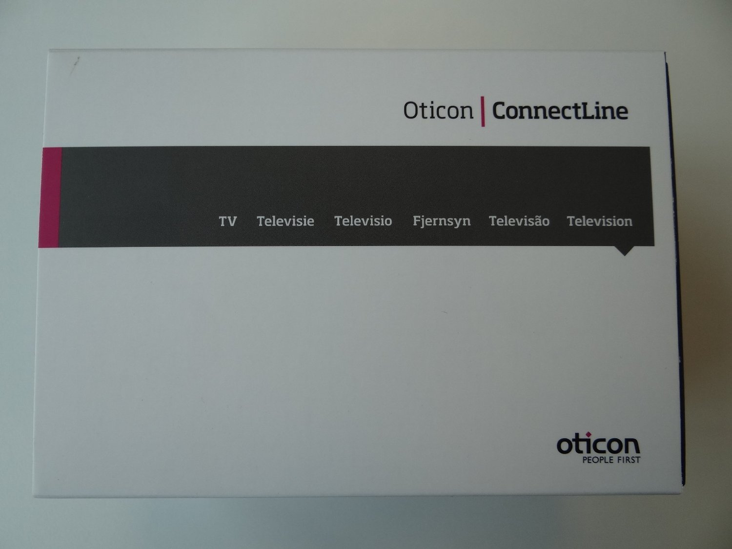 Amazon Com Oticon Connectline Tv Adaptor 2 0 Tva2 Black Health