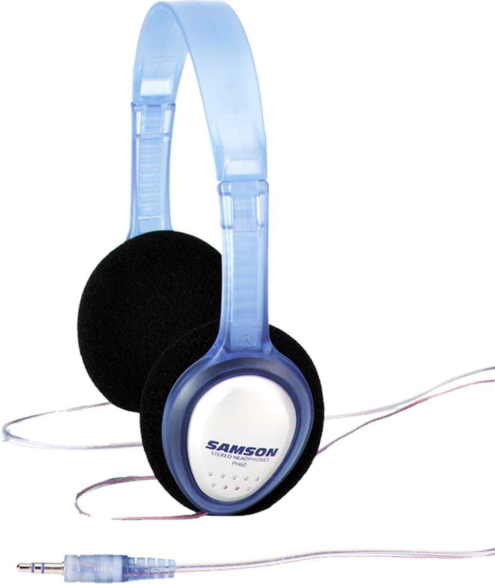 Keepdrum ms106/BK Micr/ófono Soporte Tr/ípode con jirafa y metal de socket Samson PH60/Auriculares est/éreo