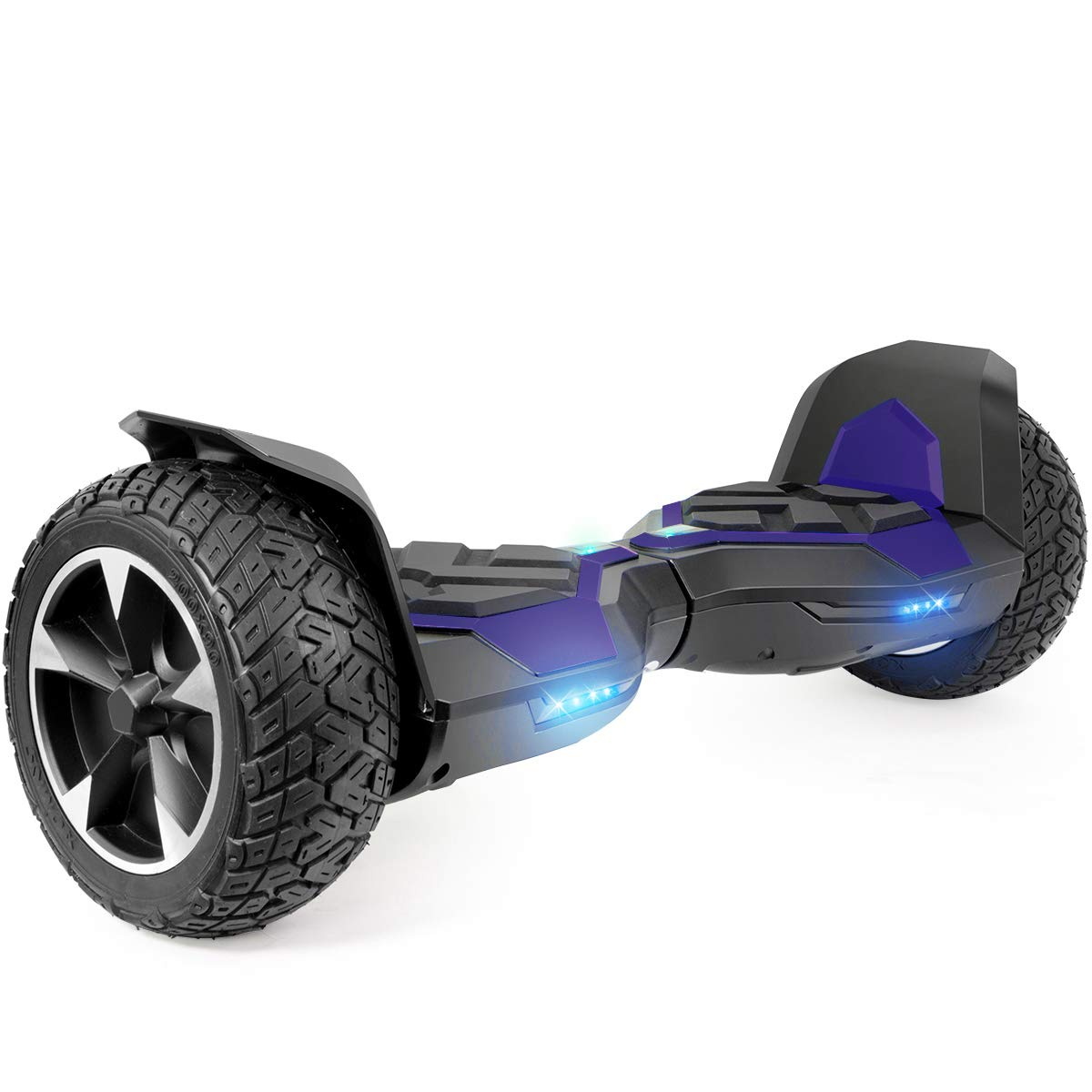 XtremepowerUS 8.5 Inch Off-Road All Terrain Self-Balancing Hoverboard, w Bluetooth Speaker