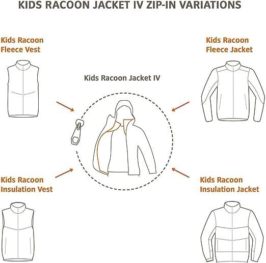 VAUDE Ni/ños Kids Racoon Insulation Vest Chaleco