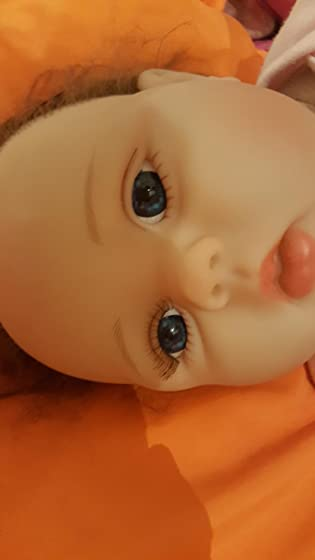 Minidiva Reborn Baby Dolls 22 inch,Quality Realistic Handmade Babies Dolls Girls Soft Vinyl Silicone Lifelike Kids Gifts / Toys Age 3+, EN71 Certification Don't buy!!! It is garbage!