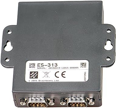 Brainboxes ES-313 2PORT RS422//485 ETHERNET to Serial Device Server 1 MEGABAUD