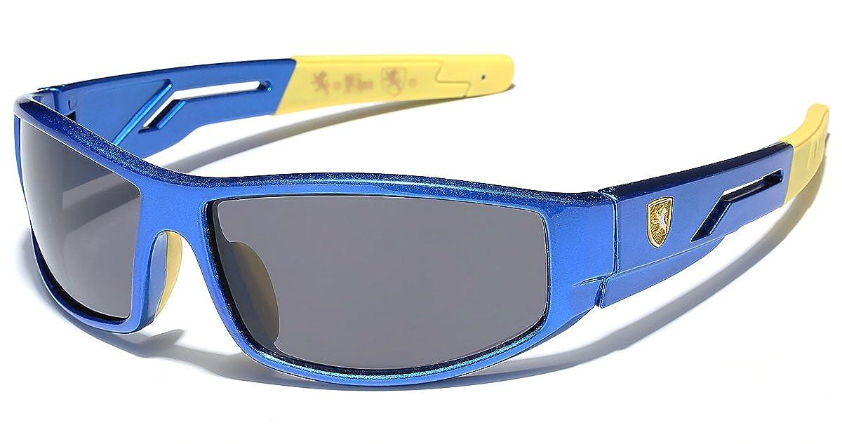 Kids Boys Wrap Around Cycling Baseball Sport Sunglasses Age 3-12